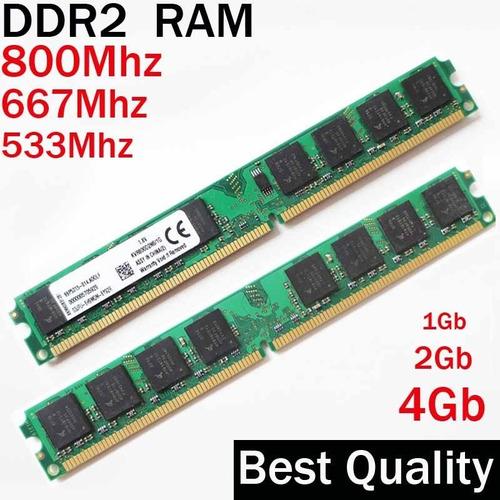 Memorias Ram Ddr2 2gb Para Descktop / Envios /factura