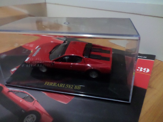 Miniatura Ferrari Colection Panini - 512 Bb - Escala 1/43