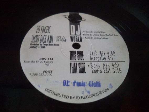 Lp / Ep / Single 20 Fingers - Short Dick Man - Mix Dj World