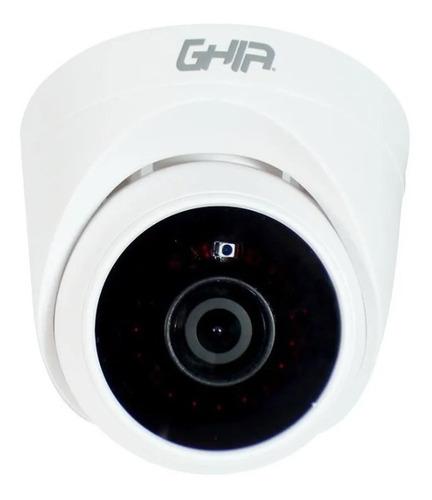 Imagen 1 de 2 de Cámara Ghia Interior Domo 1080p 4 En 1 Ahd Tvi Cvi Gcv-007
