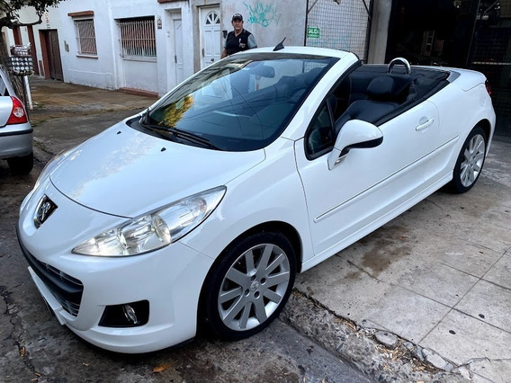Peugeot 207cc 2013 Cabriolet 308 Cc Descapotable Blanco 207