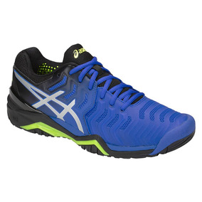 Tênis Asics Gel Resolution 7 Azul E Preto