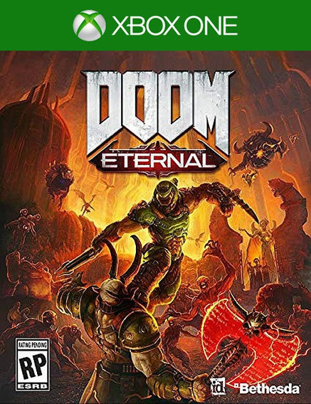 Doom Eternal X Box One + 2brindes
