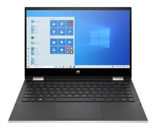 """Imagen 1 de 4 de Notebook HP Pavilion x360 14M-DW0013DX natural silver táctil 14"""", Intel Core i3 1005G1  8GB de RAM 128GB SSD, Intel UHD Graphics 1366x768px Windows 10 Home"""