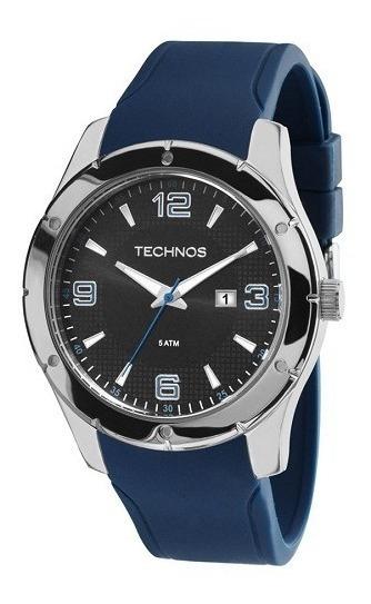 Relógio Technos Masculino Azul 2115mks/8p Original