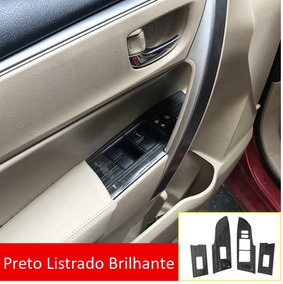 Acessorios Toyota Corolla 2014-18 Moldura Comando Vidros Top