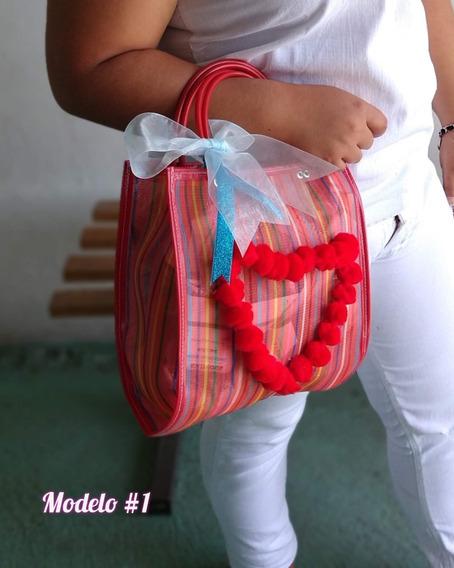 Bolsa Mexicana Para Dama Con Llavero Crochet