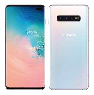 Samsung S10 Plus 128gb Rom 8gb Ram + Sd 128 + Estuche