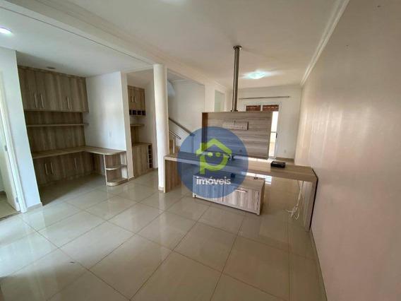 Casa Com 3 Dormitórios Para Alugar No Condomínio Giardino, 94 M² Por R$ 2.000/mês - Giardino - São José Do Rio Preto/sp - Ca1424