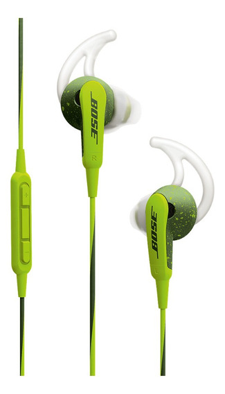 Auriculares Bose SoundSport in-ear headphones energy green