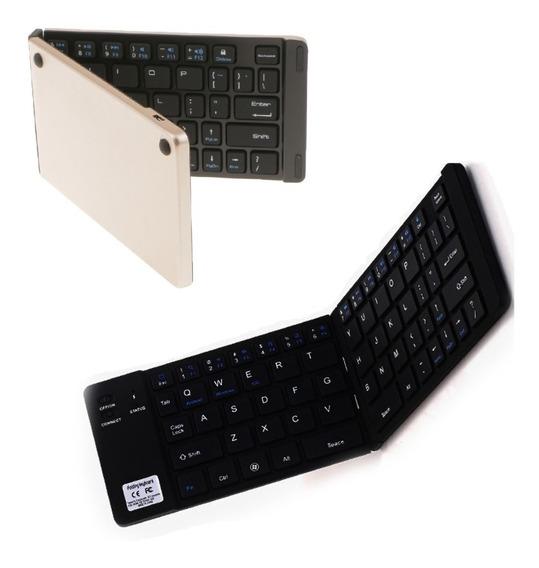 Teclado Plegable Portatil Bluetooth Para Celular Tablet