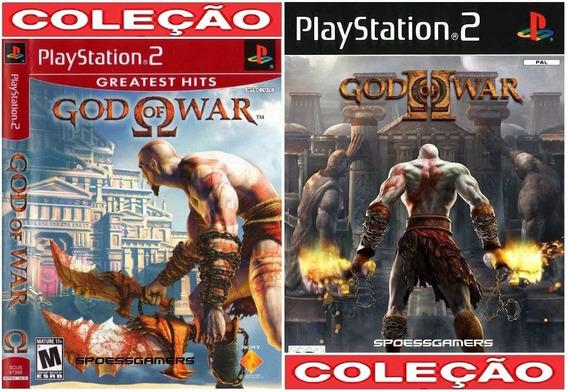 God Of War 1 E 2 Legenda Em Português Ps2 Desbloqueado Patch