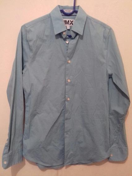 Envio Gratis Camisa 1mx Express Talla Chica 14 - 14 1/2