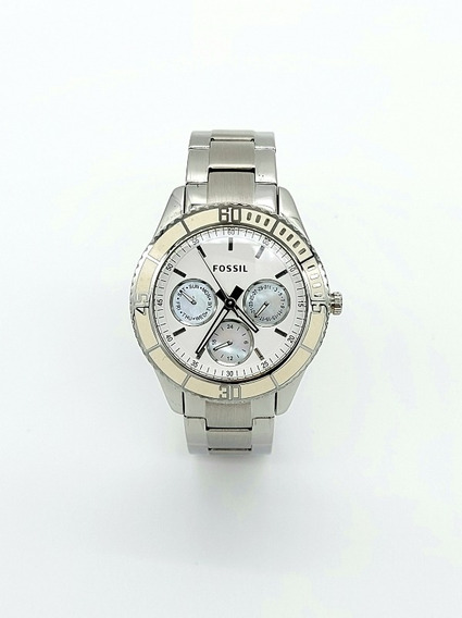 Relógio Fossil Feminino Branco Fes2783