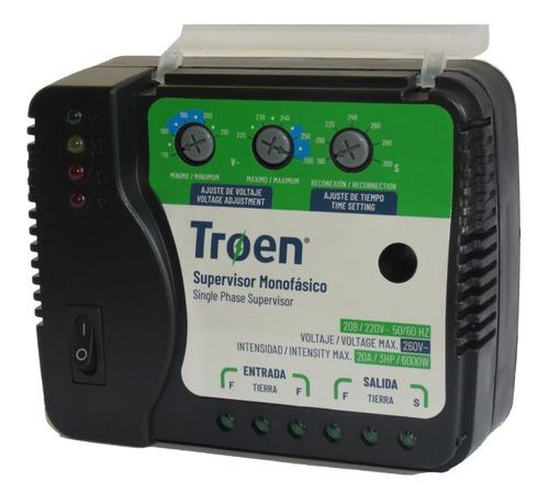 Protector De Voltaje 220v Monofasico Aire Enfriador Cable