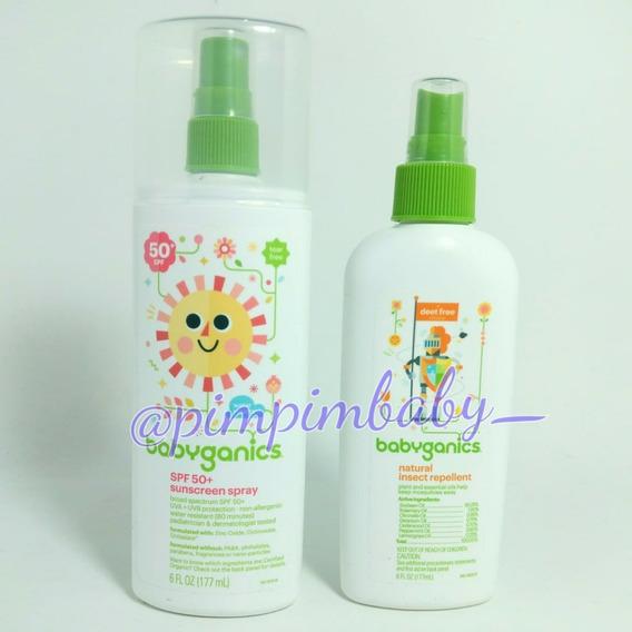 Protetor E Repelente Babyganics 177ml Spray Spf50