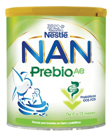 Fórmula para lactantes en polvo Nestlé Nan Prebio AE en lata de 900g