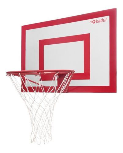 Tablero Basquet Exterior Aro Macizo Reforzado Red Basket Cke