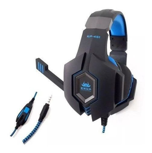 Fone De Ouvido Headset Gamer Ps4 Xbox One Pc Entrada P2 / P3