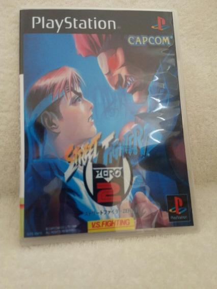 Street Fighter Zero 2 Para Playstation 1 - Patch