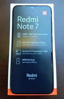 Celular Xiaomi Redmi Note 7 64gb+4gb Capa+película