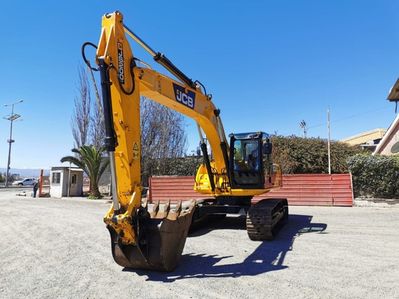 Excavadora Jcb Año 2014 Con Solo 4.000 Horas