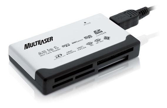 Leitor De Cartão Universal Externo Multilaser - Ac076