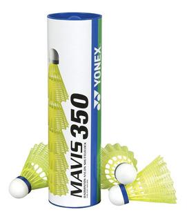 Peteca De Badminton Yonex Mavis350 - Tubo Com 6 Unidades