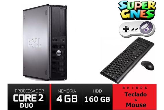 Pc Desktop Dell 320 Optiplex 1.8 Ghz 2gb 160gb Seminovo!