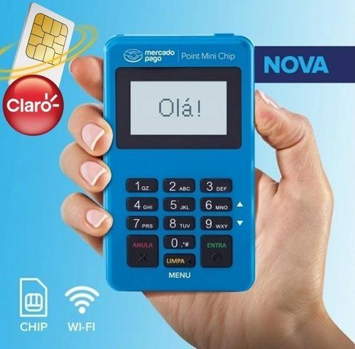 Imagem 1 de 7 de Point Mini Chip Mercadopago Maquinha Não Precisa Do Celular