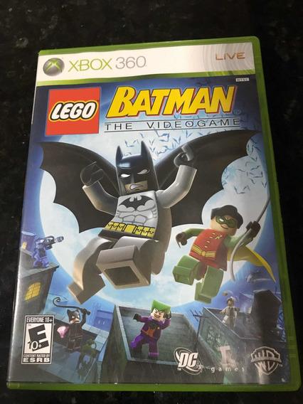 Jogo Xbox 360 Lego Batman The Videogame Original Física