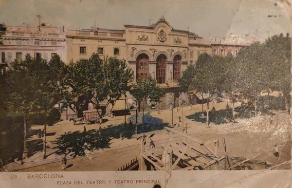 Postal De Barcelona De 1910