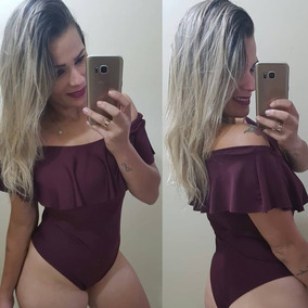 Body Ciganinha - Marsala