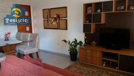 Cobertura Com 3 Dormitórios À Venda, 200 M² Por R$ 550.000,00 - Parque Das Nações - Santo André/sp - Co1502