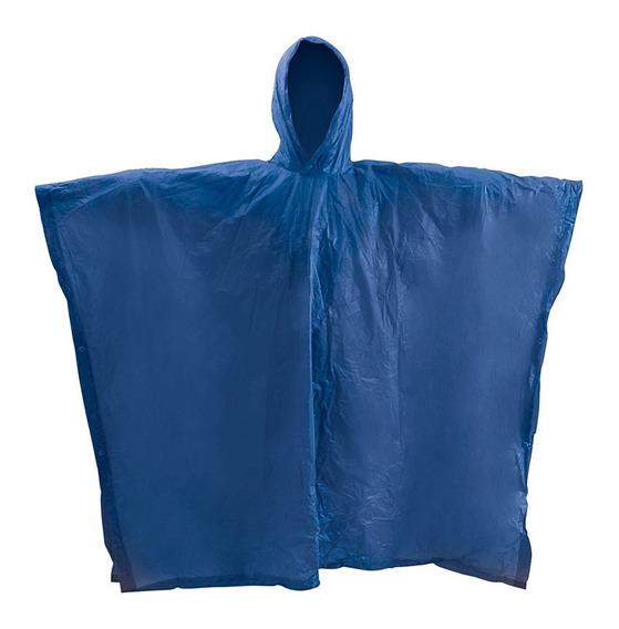 Poncho Impermeable Unitalla Reforzado Azul Foy 144145