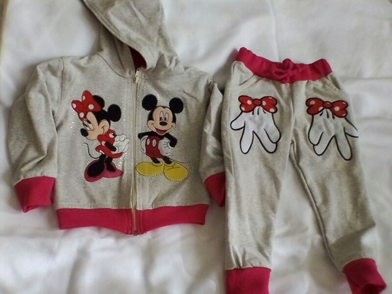 Conjunto Pants Niña Minnie Mouse