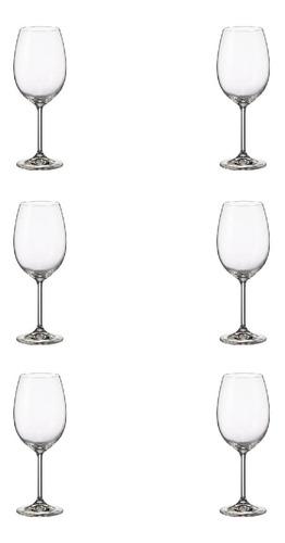Copa Vino Bohemia Gastro 480ml X6, Bohemia - Bazar Colucci