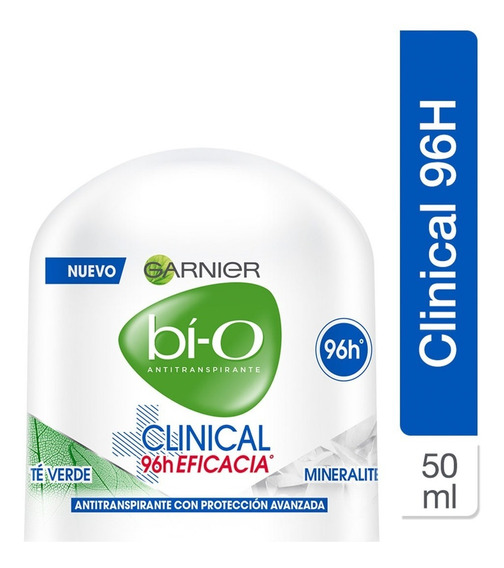 Desodorante Roll On Bio Clinical Mujer Eficacia 50ml Garnier