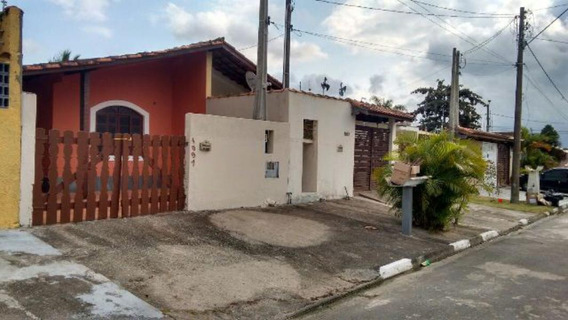 Casa No Jd. Grandesp Em Itanhaém,confira! 4246 J.a