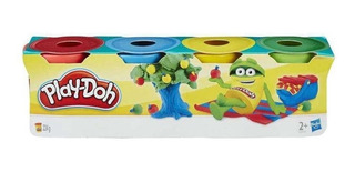 Masas Play-doh Hasbro 23241 Mini Pack X4 Masa Educando