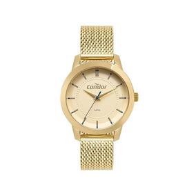 Relógio Condor Feminino Dourado Co2036kvz/k4x