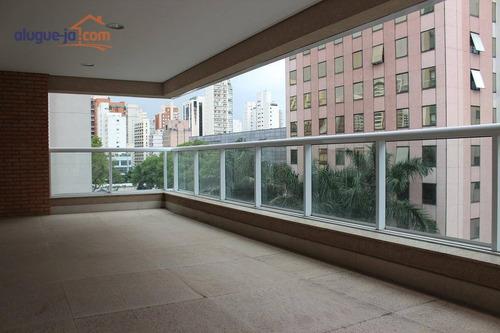 Apartamento Novo Alto  Padrão 3 Suítes - Jardim América- São Paulo- Sp - Ap11857