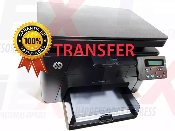 Impressora Multifuncional Hp Color Laserjet M176 Transfer