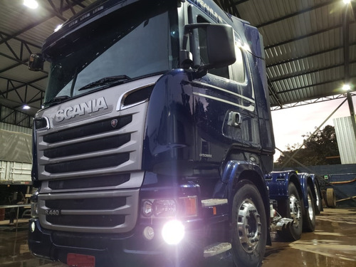 Scania R 440 Streamline 8x2 Ano 2014 Top Impecável
