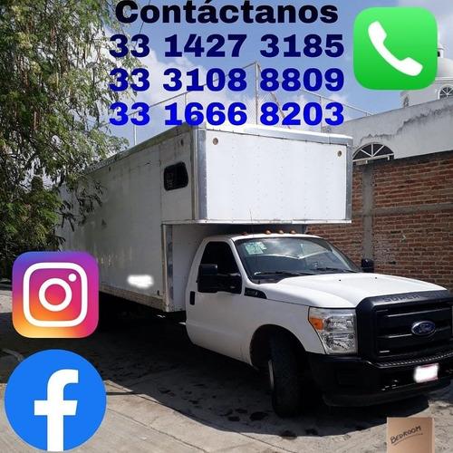 Imagen 1 de 5 de Fletes Y Mudanzas En Zapopan Jalisco, Local Y Nacional