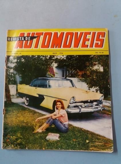 Revista De Automóveis 1952 - Raríssima
