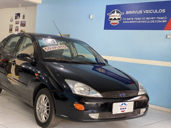 Ford Focus Sedan 2.0 Ghia 2003 Manual Top De Linha