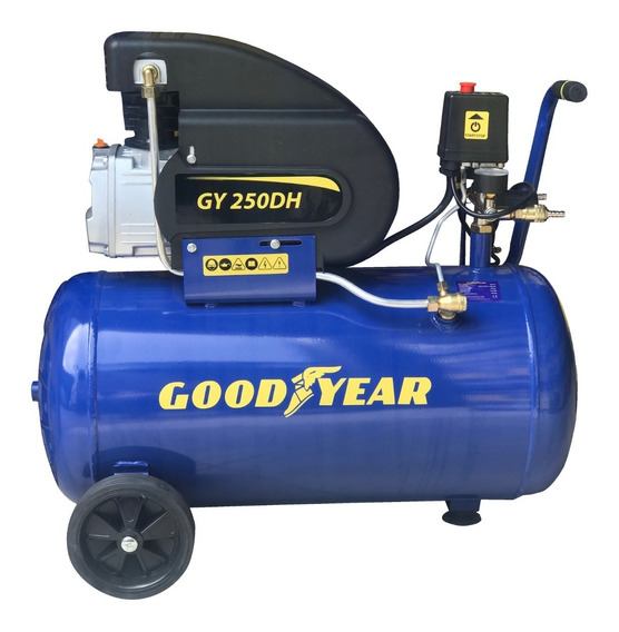 Compresora Good Year Gy250dh De 2hp 50lt
