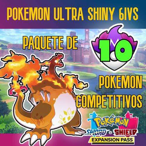 Imagen 1 de 1 de 10 Pokemon Shiny Sword Shield Espada Escudo 6iv Competitivos