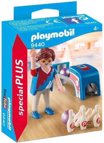Imagen 1 de 5 de Playmobil Jugador De Bolos 9440 Original Educando